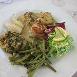 Noix de Saint-Jacques au Tarriquet, c'est quand même appétissant, non?...
