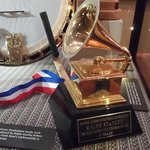 "Ralph Stanley's Grammy for ""O Death""."