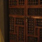 Intricate wardrobe door