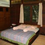 Doppelzimmer kleinerer Bungalow