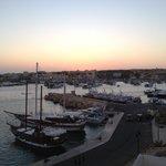 Vista al passaggio porto vecchio-porto nuovo
