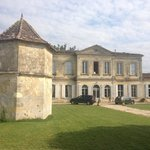 The front of the Chateau