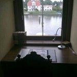 Utsikt från rum 17