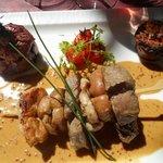 trio de veau (ris, rognons viande)
