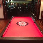The Red Tiger pool table