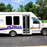 Our new shuttle bus awaits you!