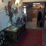 corridoio che dalla reception porta alle camere