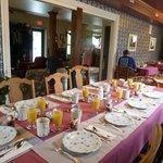 La table du Petit-Déjeuner vous attend !
