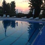 La piscine à L'aube