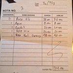 Payable bill!