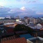Uitzicht op Hua Hin vanaf balkon