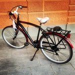 Отель дает шикарные велосипеды напрокат