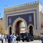 The Bab Boujloud itself - right around the corner from the hotel