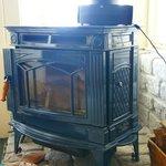 Woodburning stove in Al's