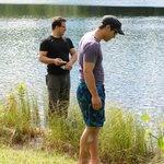 Fishing on Round Lake