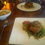 Tasty Lamb Rump beautifully cooked.