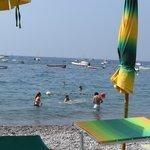 Fornillo beach