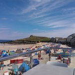 From Porthmeor Cafe
