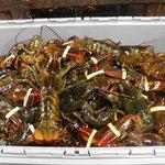 basket of lobsters