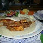 Pranzo con Fajitas di Pollo