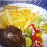 Beautiful rump steak.....mmmm melt in the mouth :-)
