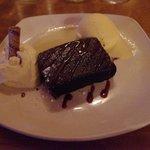 "Un buon ""brownie"" al cioccolato"