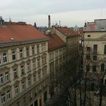 Splendida vista dalla terrazza della mia stanza al 6° piano