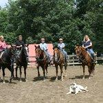 Great horseback riding