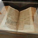 Old Bible written in German