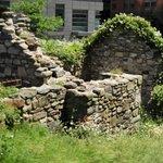Little stone house replica