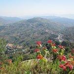 Superbe paysage montagneux de Mae Salong