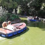 boats to hire, £3.50 for 2adult +1child together - great fun with several sets available