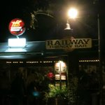 Railway Friendly Bar, exterior