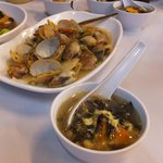 Clams and Seaweed Soup