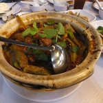 Stingray Curry with ladies fingers