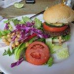 Quinoa Black Bean Veggie Burger