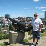 Cannon atop Federal Hill