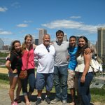 Our family atop Federal Hill