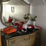 Dresser in queen bedroom