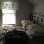 queen bed upstairs