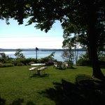 View out onto Lake