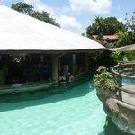 Pool Bar & Hot Spring Tubs