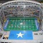 Cowboys Stadium in Lego's