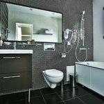 Номер студия, ванная комната