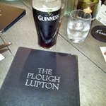 The Plough menu