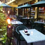 Enjoy our South Florida weather with outdoor dining at Treats Cafe