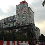 Empire Hotel taken at opposite Subang Parade