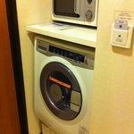 洗衣機和微波爐!