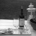 Buena tarde de vino y queso