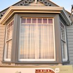 Bay windows that help fill the house with natural ambient light